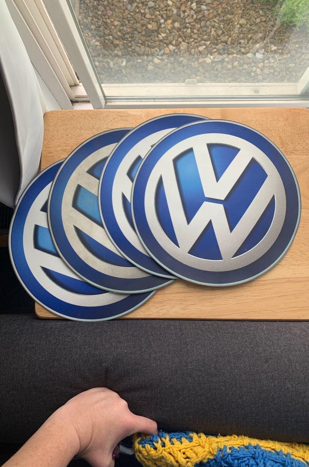 4 Large VW logo Graphics