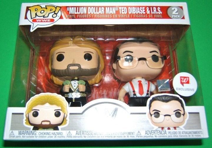 Million Dollar Man & I.R.S. Funko Pop!