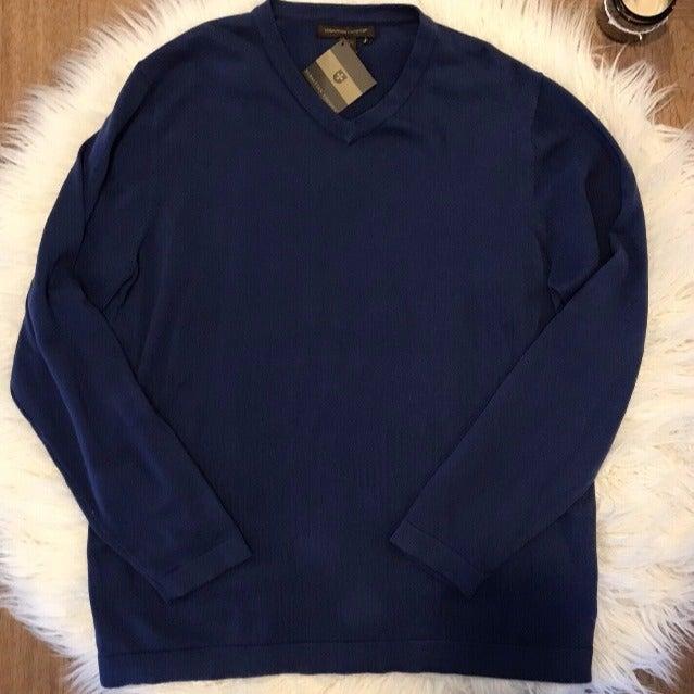 Men's Navy Blue Sweater Sebastian Cooper