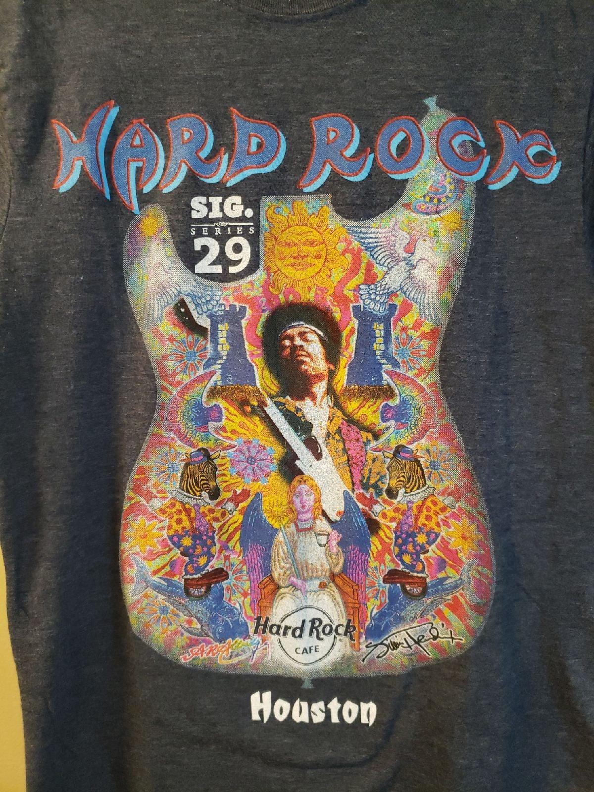 Hard Rock Cafe jimi hendrix graphic tee