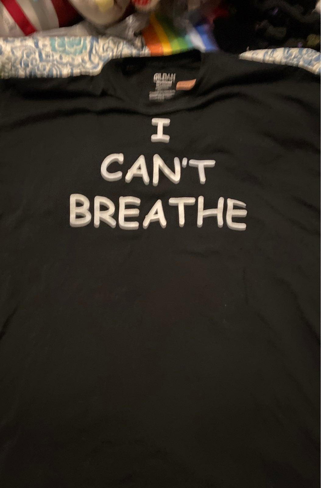 I cant breathe black shirt