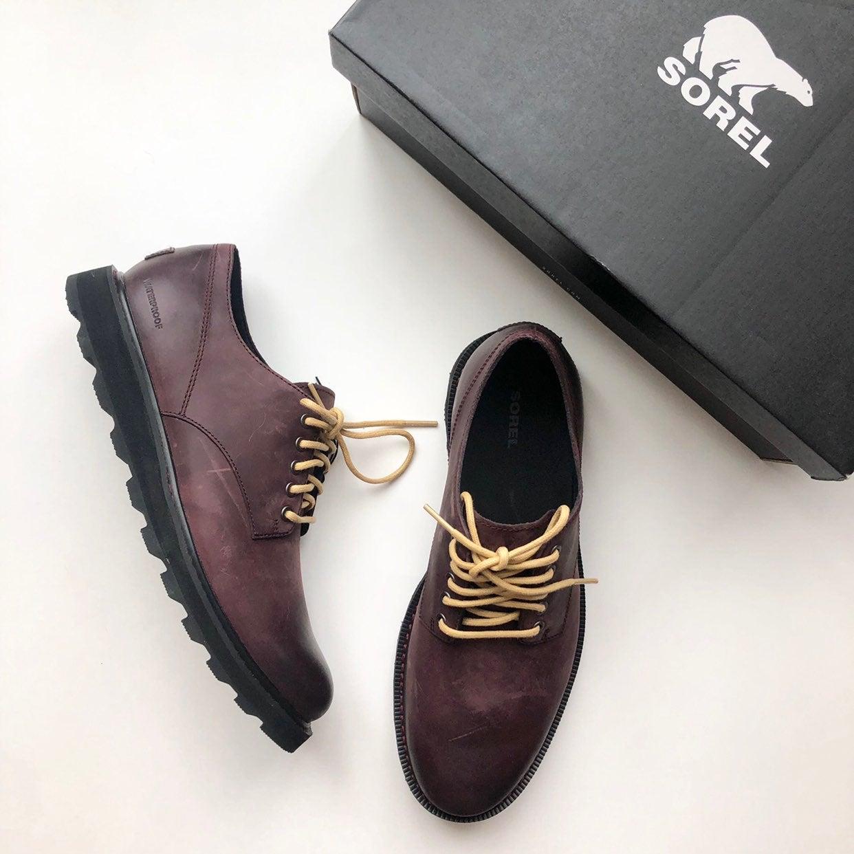 Sorel Madson Waterproof Leather Derby