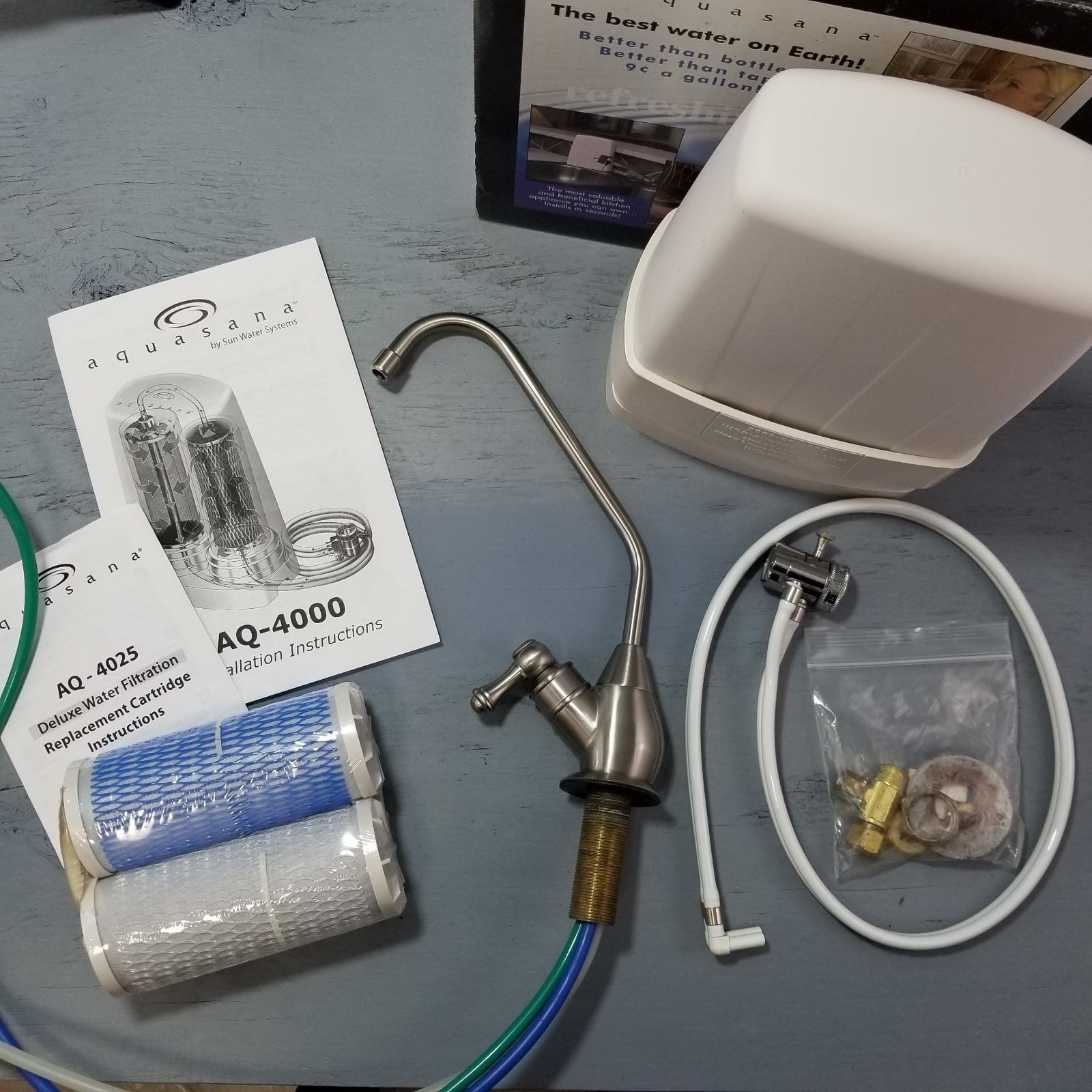 Aquasana Brushed Nickel Water Faucet