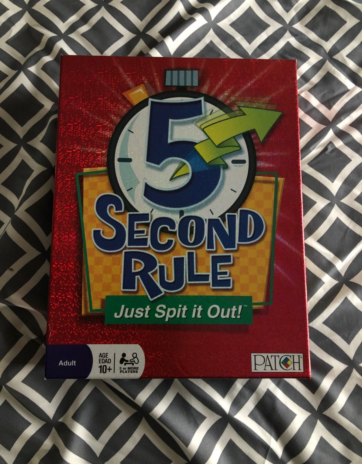 5 Second Rule Game LIKE NEW