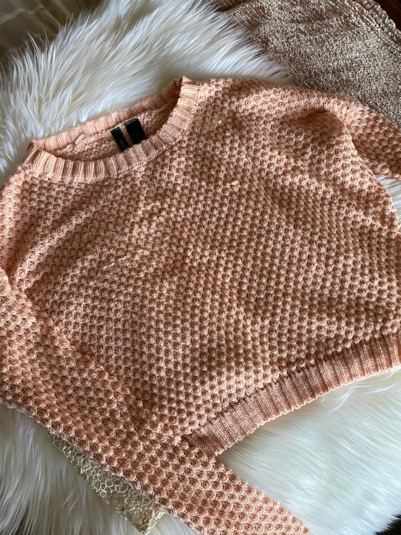 Powder Pink Knitted Sweater