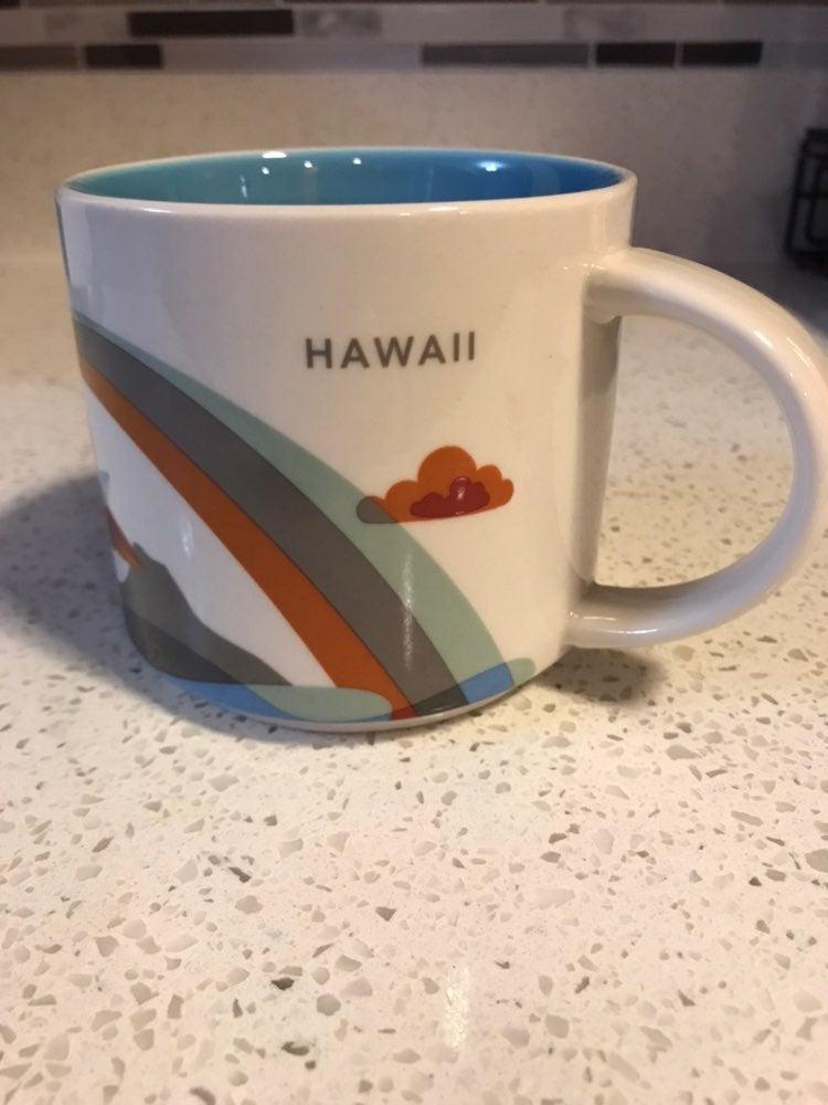 Starbucks You Are Here Mug- Hawaii