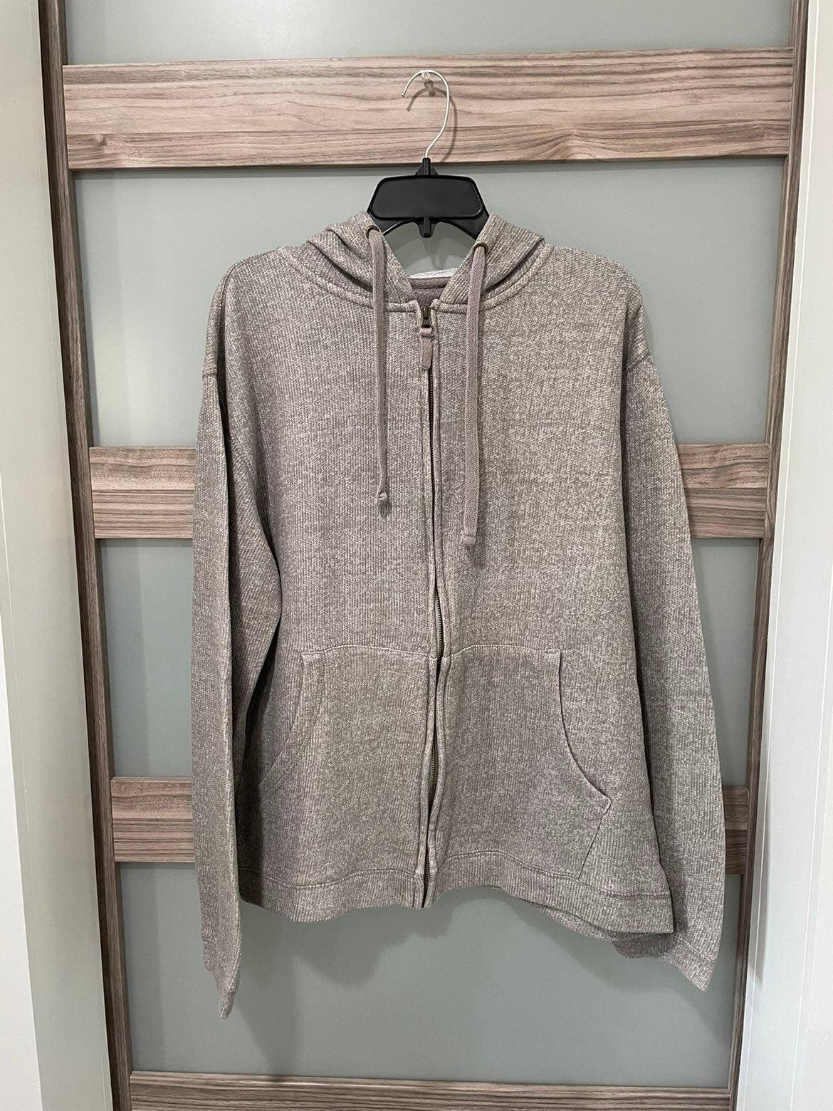 Weatherproof   zip-up hoodie