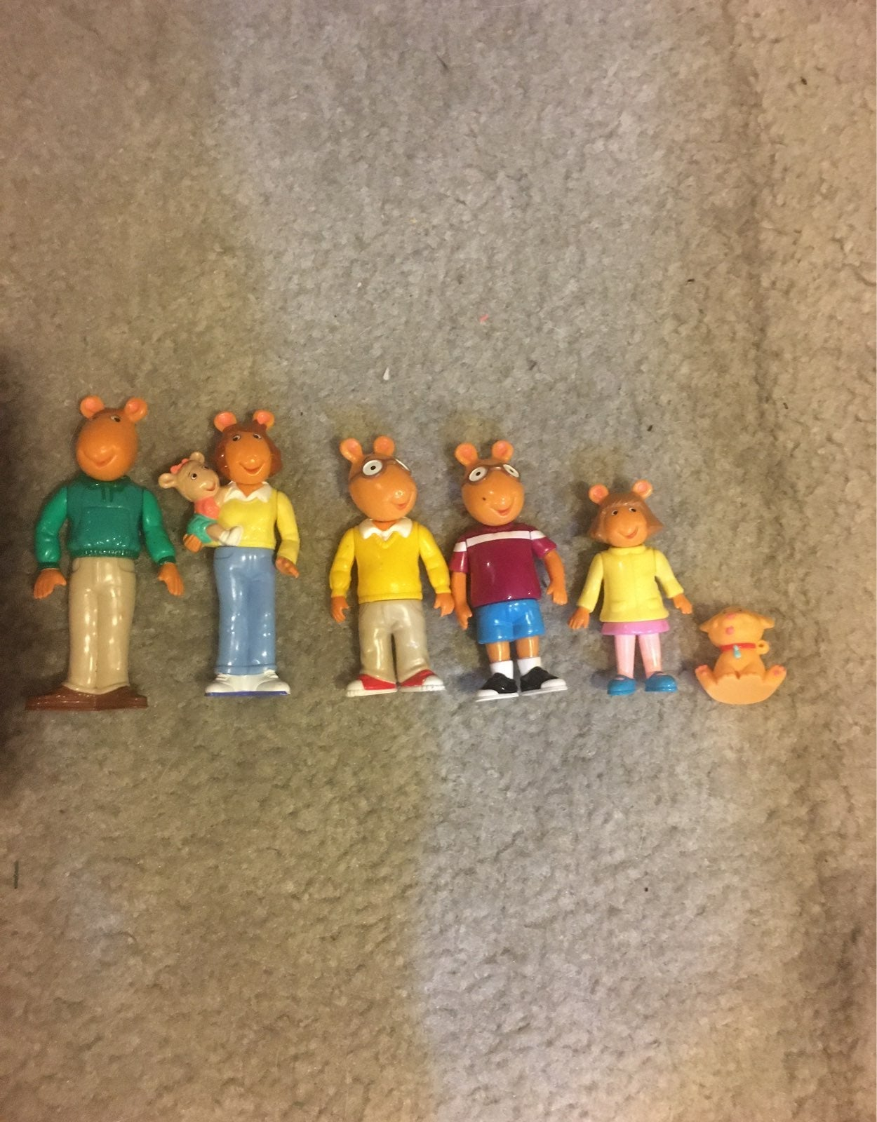 PBS Arthur Figures Set of 6