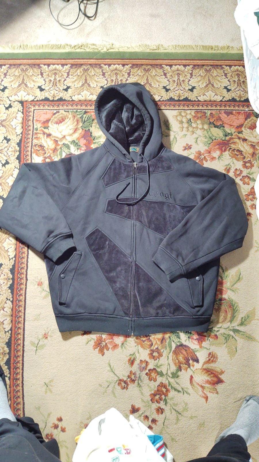 Coogi zip up jacket