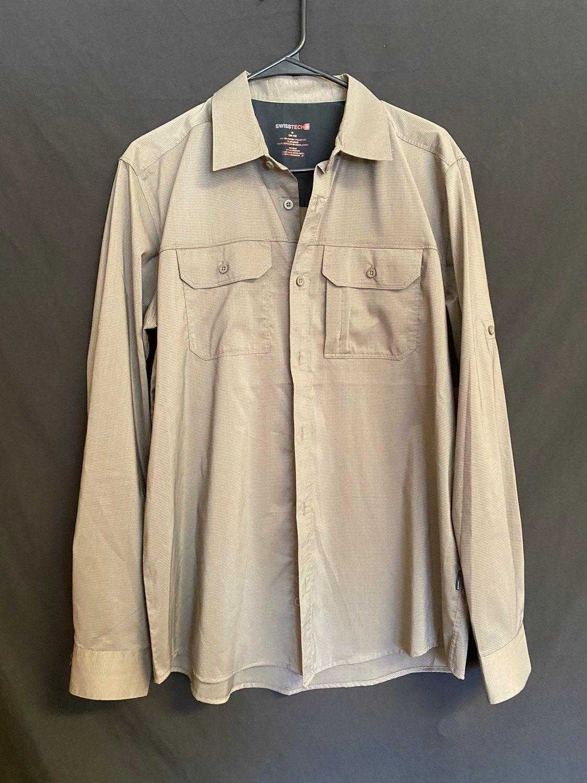 Swiss Tech button down shirt