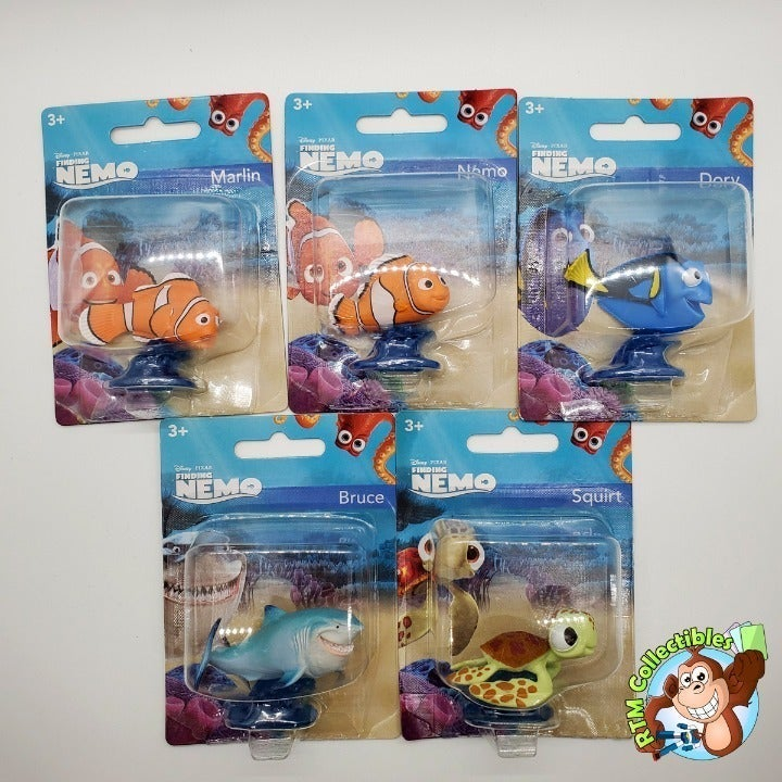 Finding Nemo Disney Cake Topper Set of 5