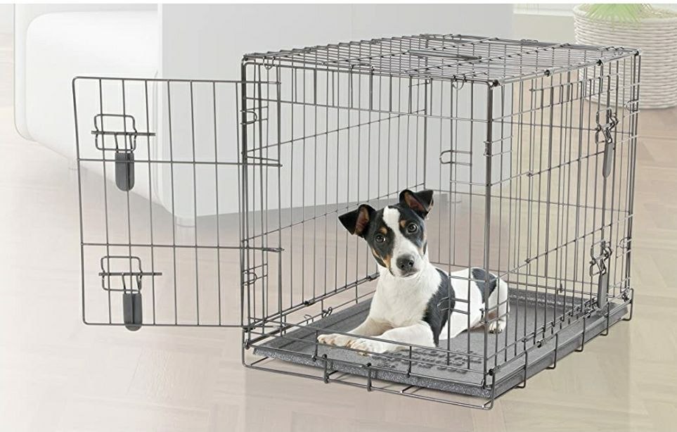 Dog it 2 Door Wire Cage Dog Small