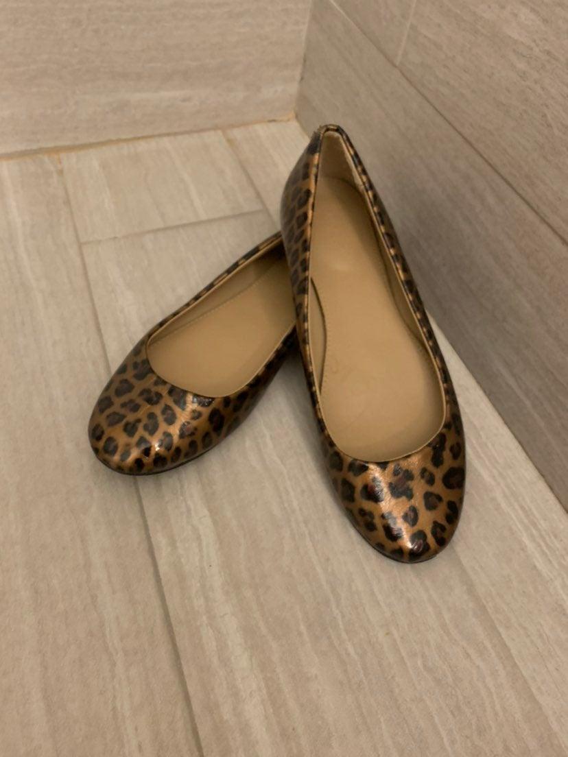 J Crew Ballet Flats Shoes Cheetah