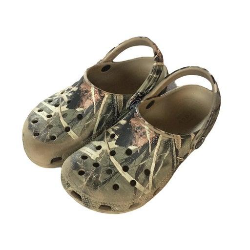 Kids Crocs camo