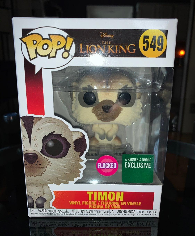 Funko Pop! Disney: Flocked Timon