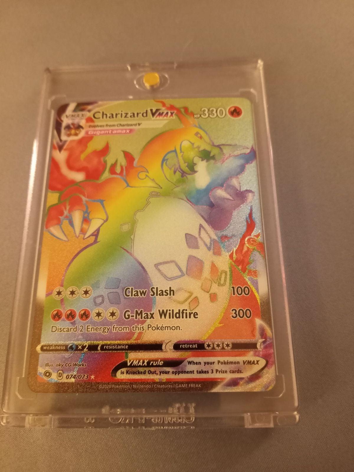 Rainbow Charizard VMAX 74/73