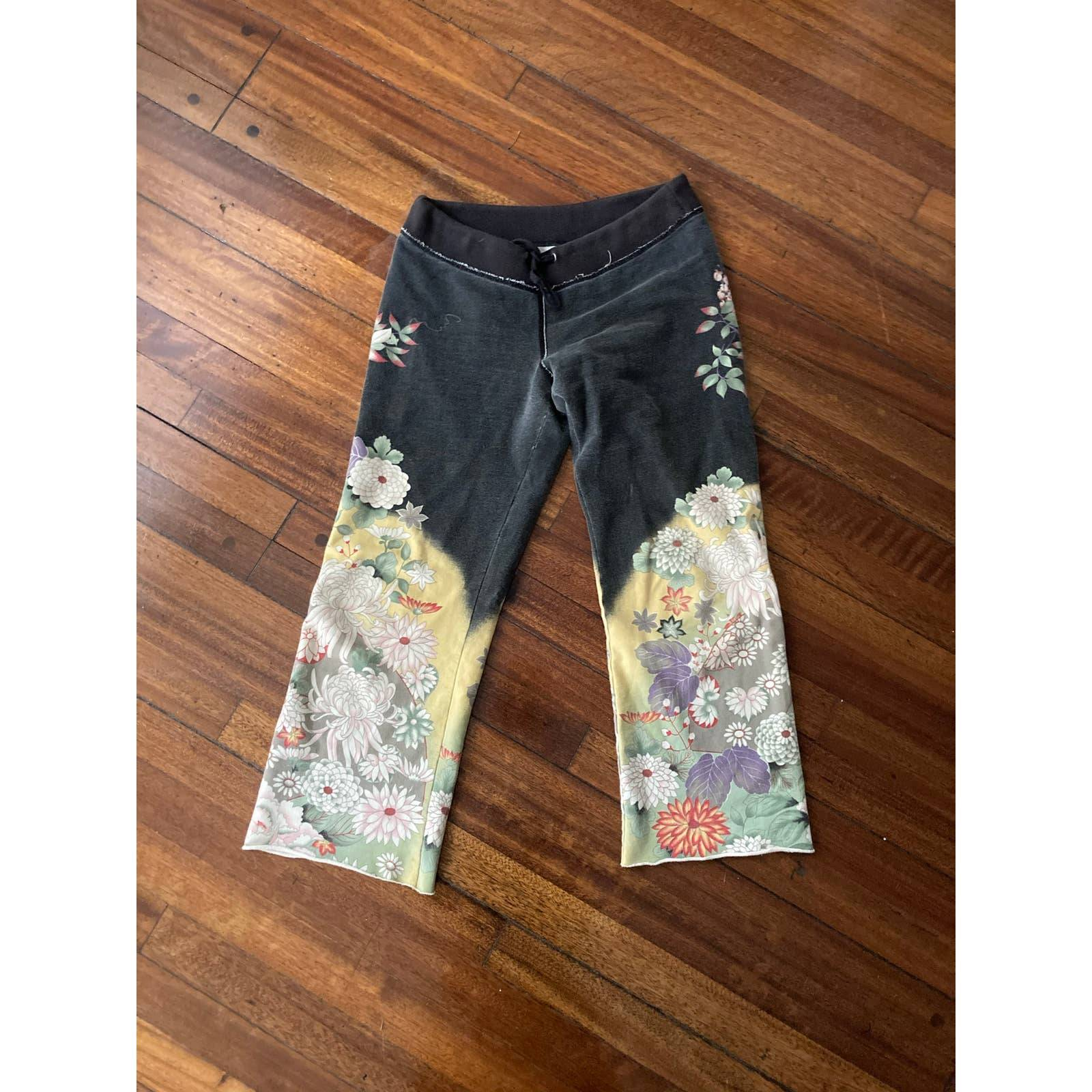 Lucky Brand Asian inspired sweatpants XS