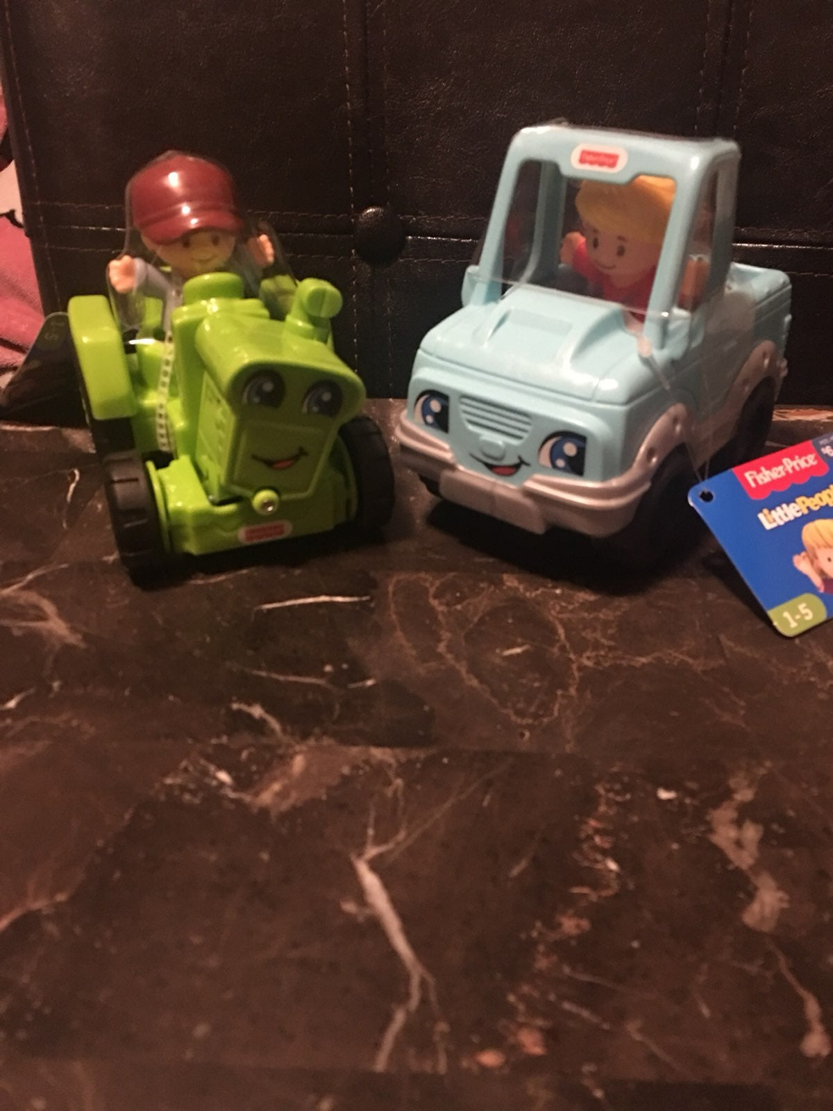 Fisher-Price little people tractor truck