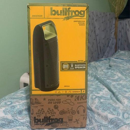 Bullfrog waterproof speaker