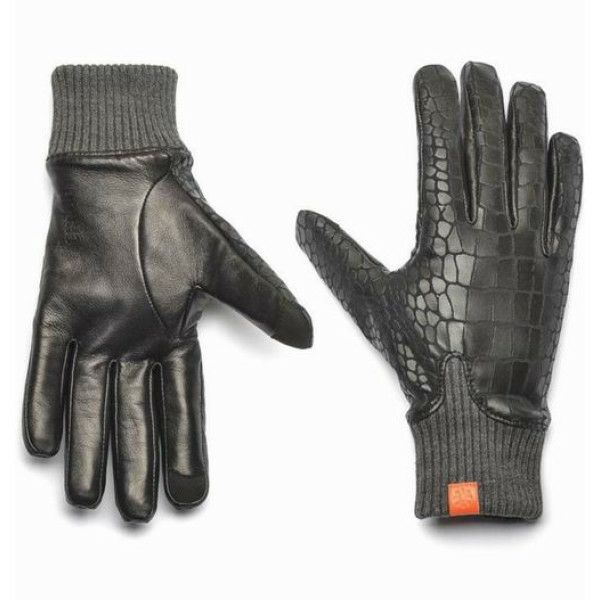 Honns Womens MaryJane Crocodile Gloves