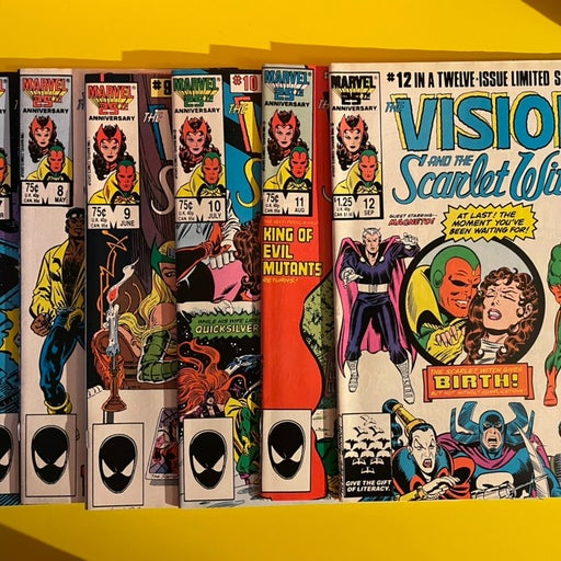 Vision and Scarlet Witch 1-12