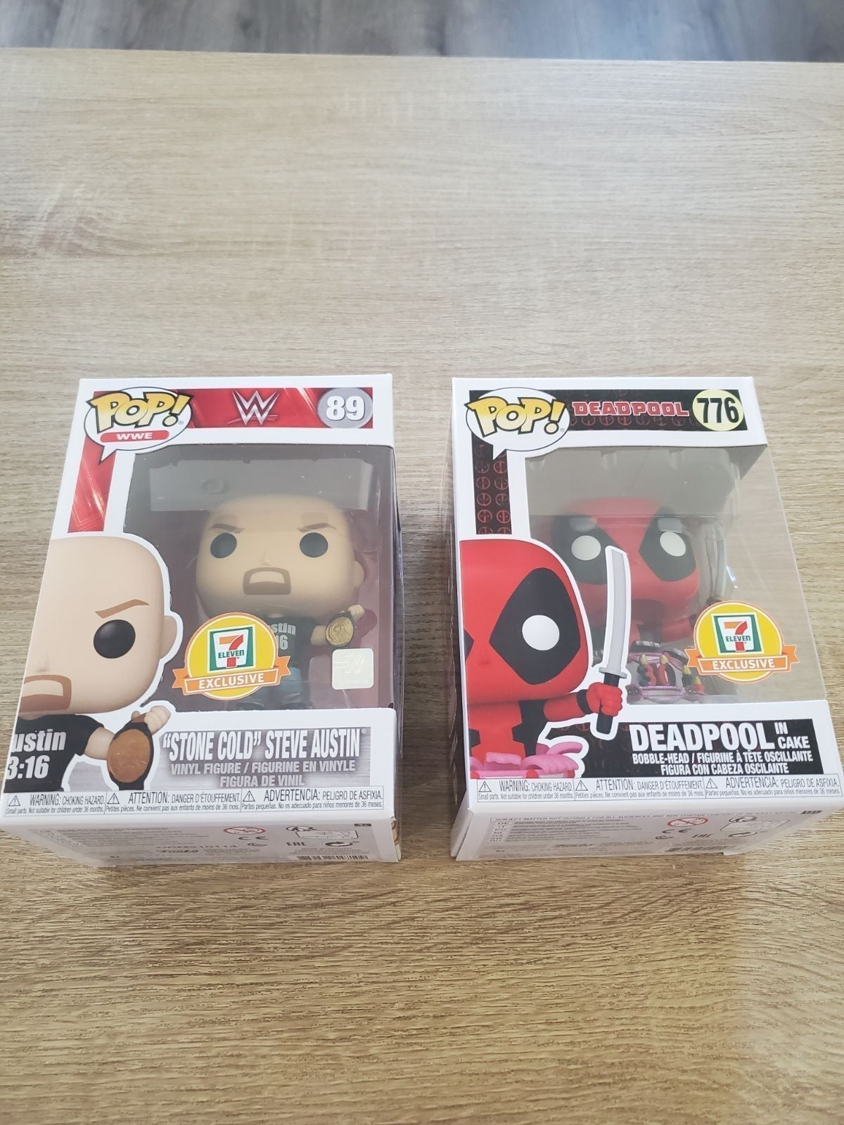 711 exclusives Stone Cold and Deadpool