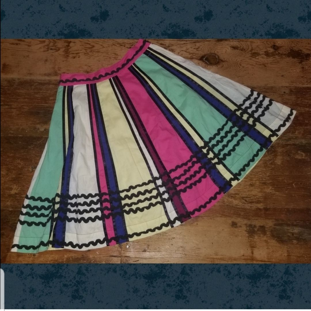 Anthropologie boho Vintage Full Skirt