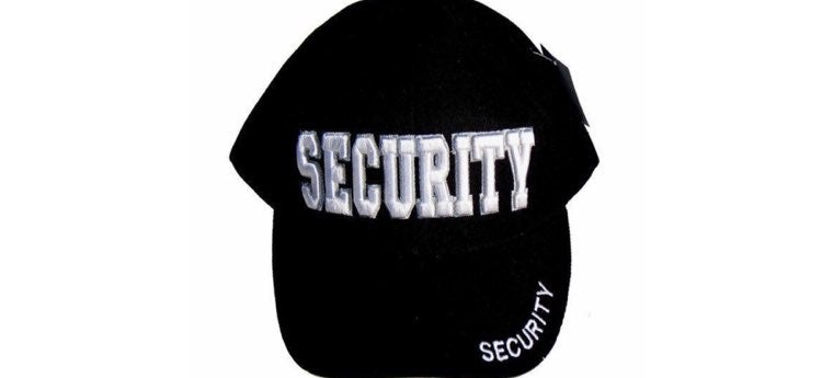 Security Guard NWT HAT Rapid Dominance