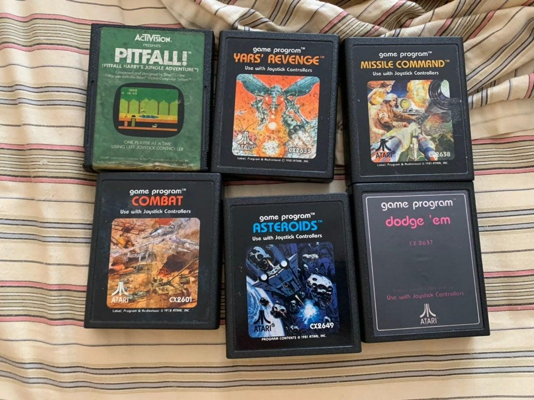 6 Atari video games