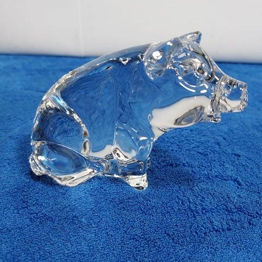 Princess House Crystal Pig Figurine