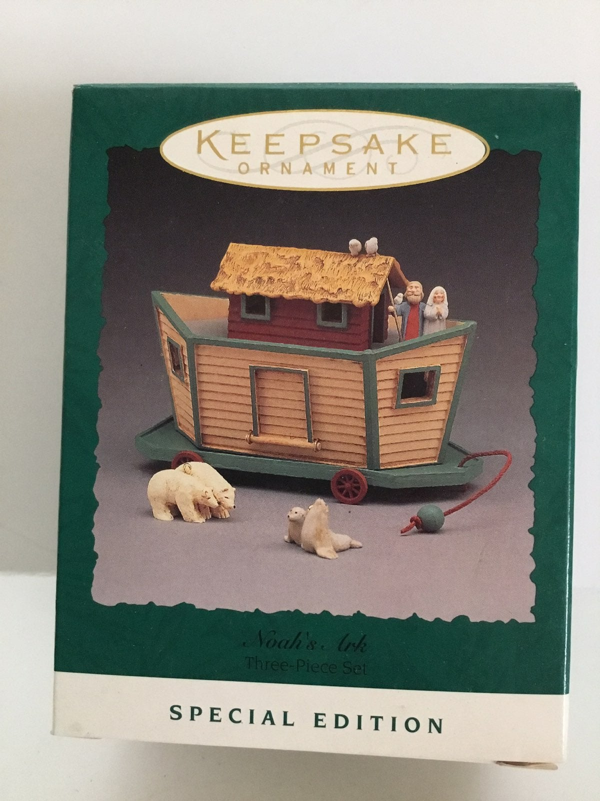 Hallmark Noah's Ark 3 piece Set