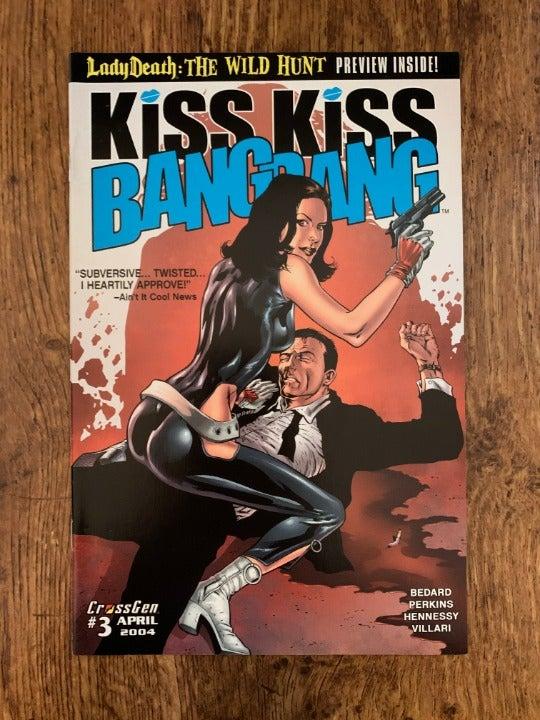 KISS KISS BANG BANG #3 2004 VF+ CROSSGEN