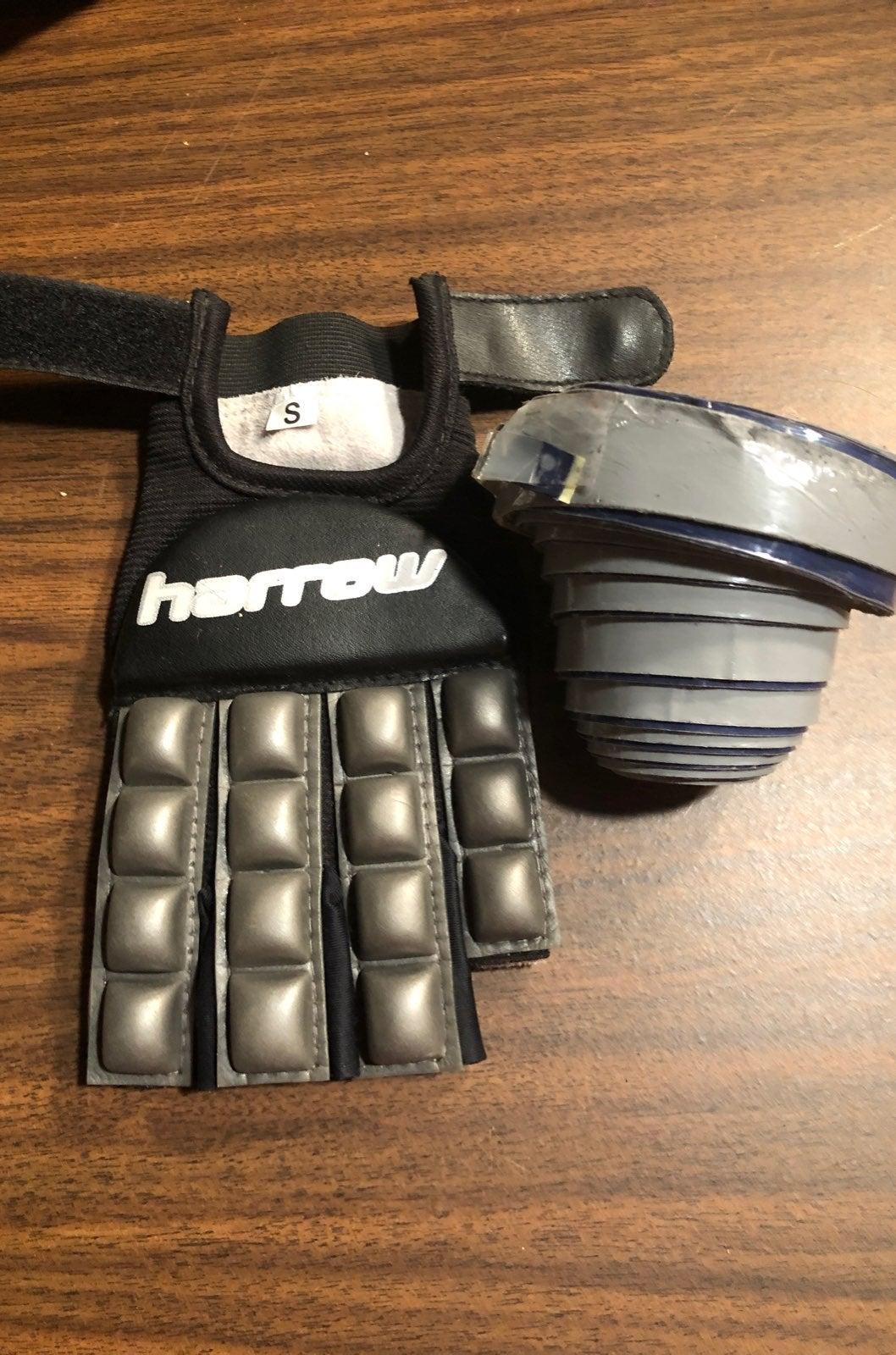Harrow indoor field hockey glove & tape