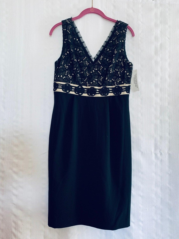 Kay Unger Black Dress SZ 8
