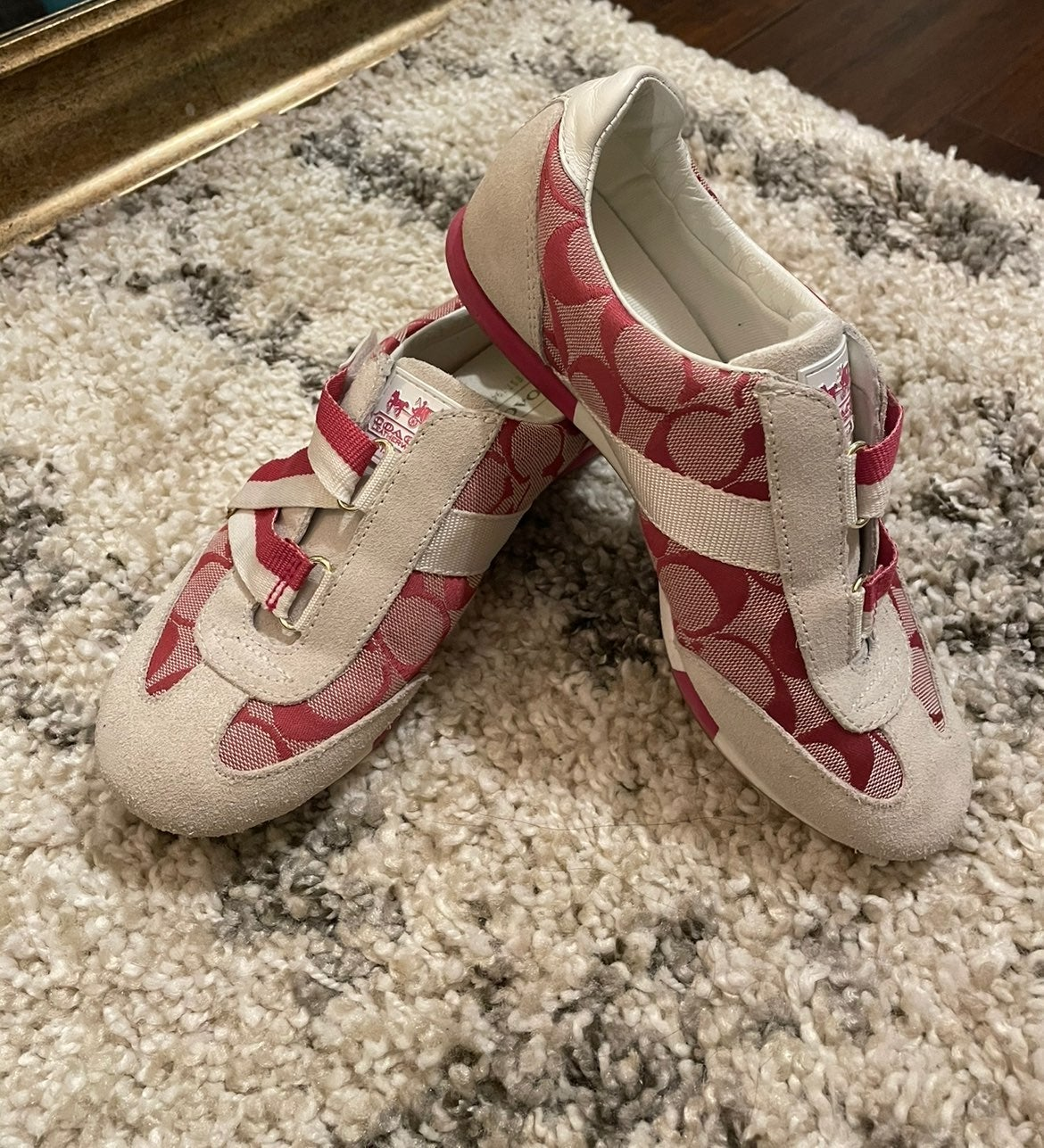 Coach sneakers size 5