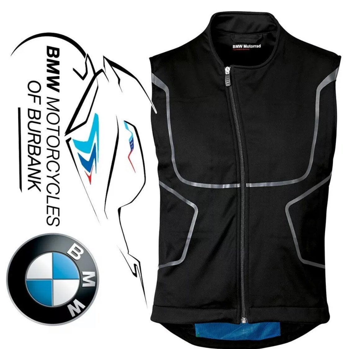 NWT BMW Motorrad HeatUp Vest - L