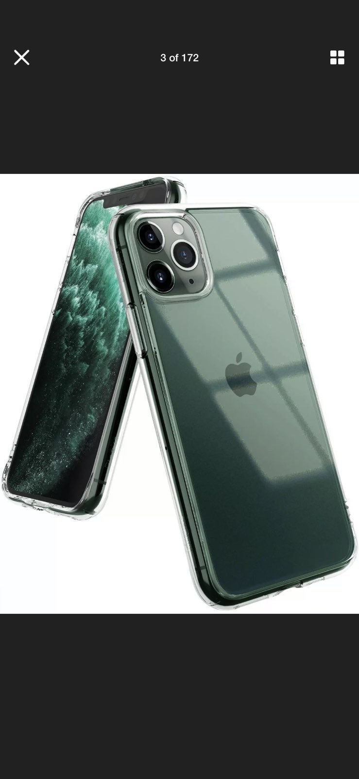 Ultra clear Case For iPhone 11 Pro Max