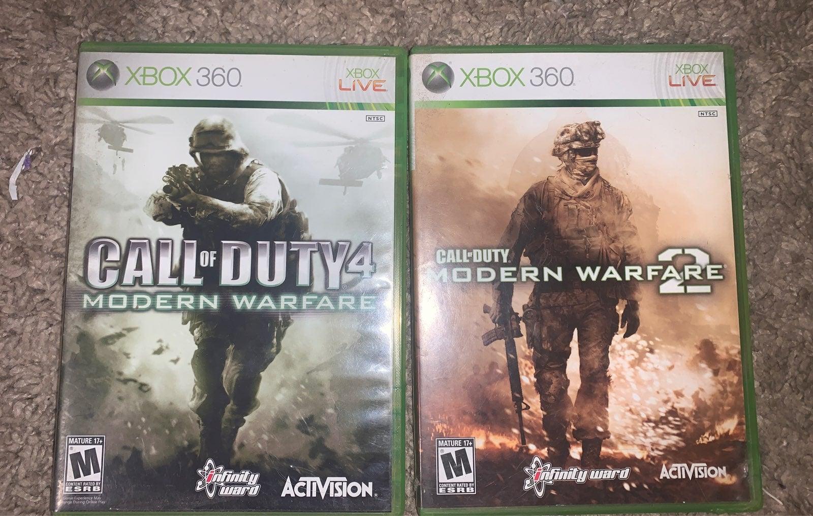 Xbox 360 Call of Duty Bundle