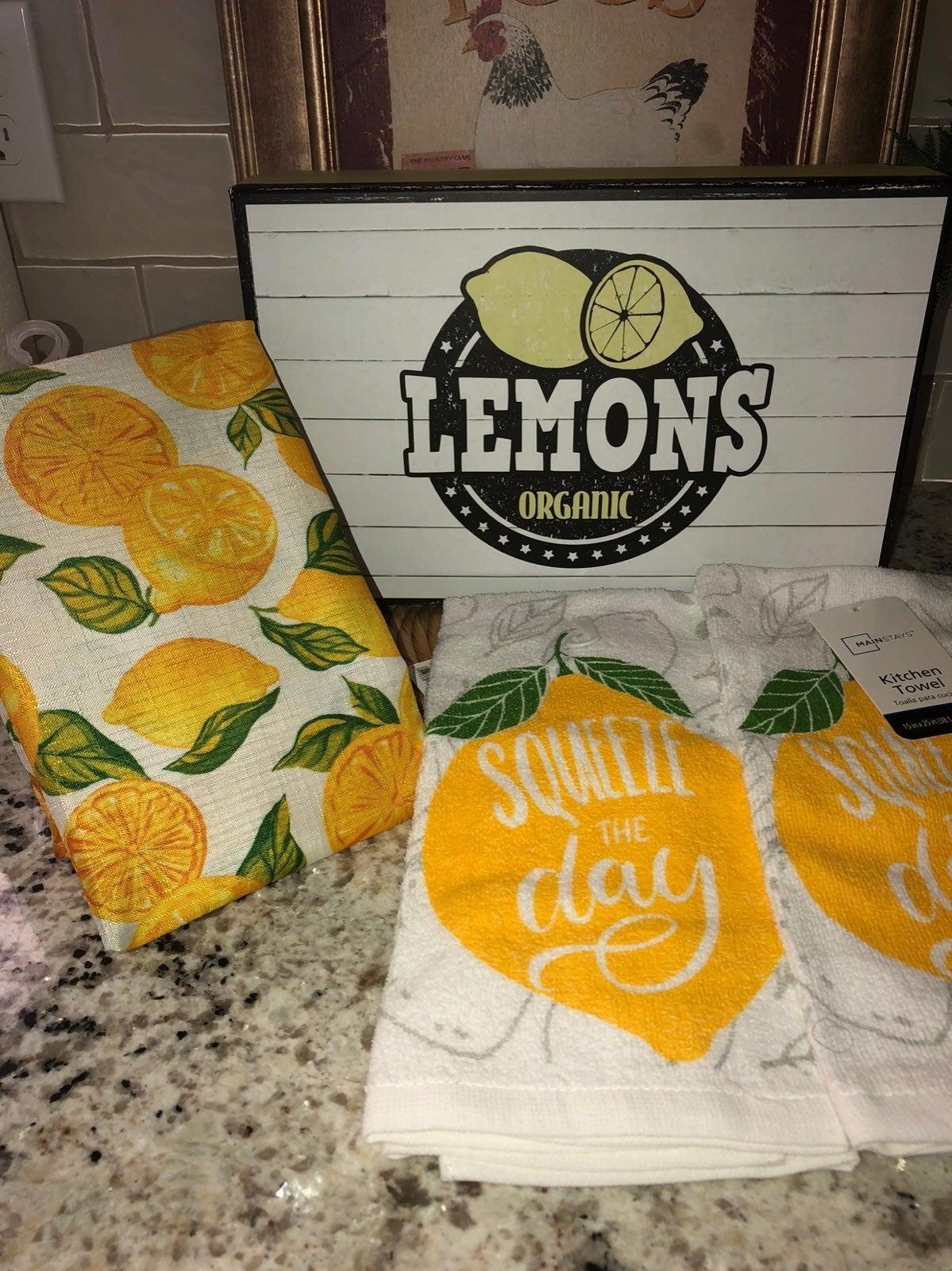 Lemon Farmhouse Decor Bundle