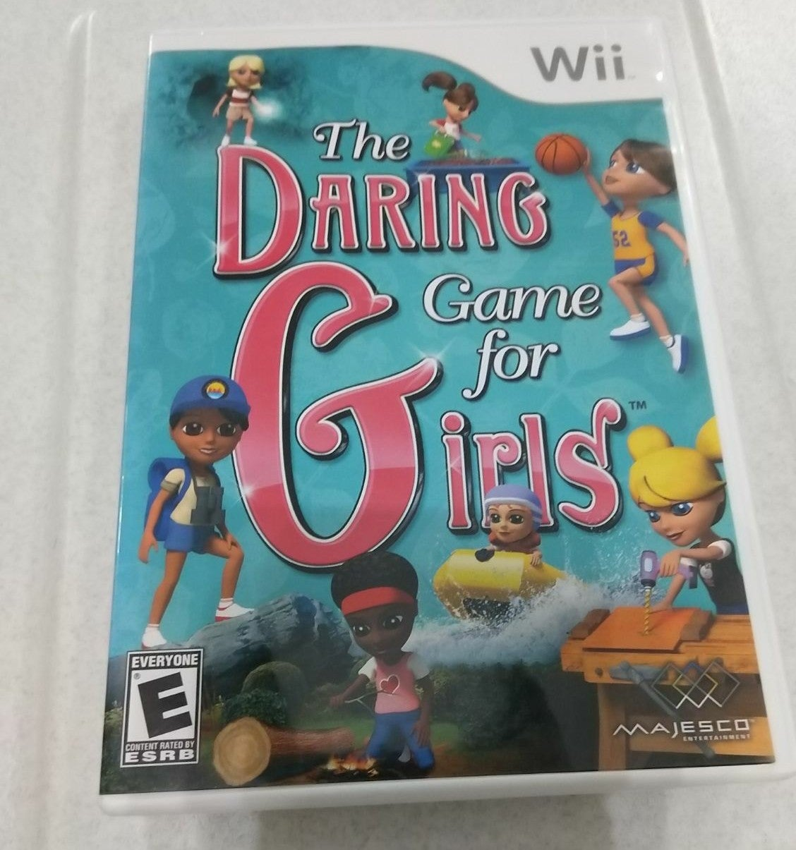 Majesco Wii game (The Daring Game for Gi