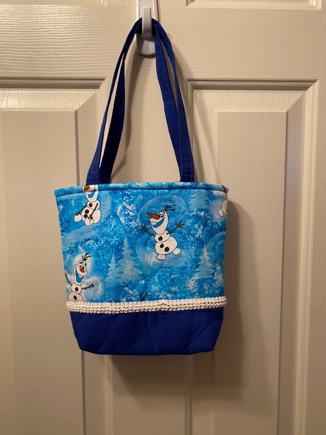 Frozen Olaf tote bag purse girls