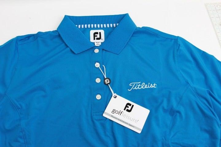 FootJoy Women's XL Blue Golf Polo NWT