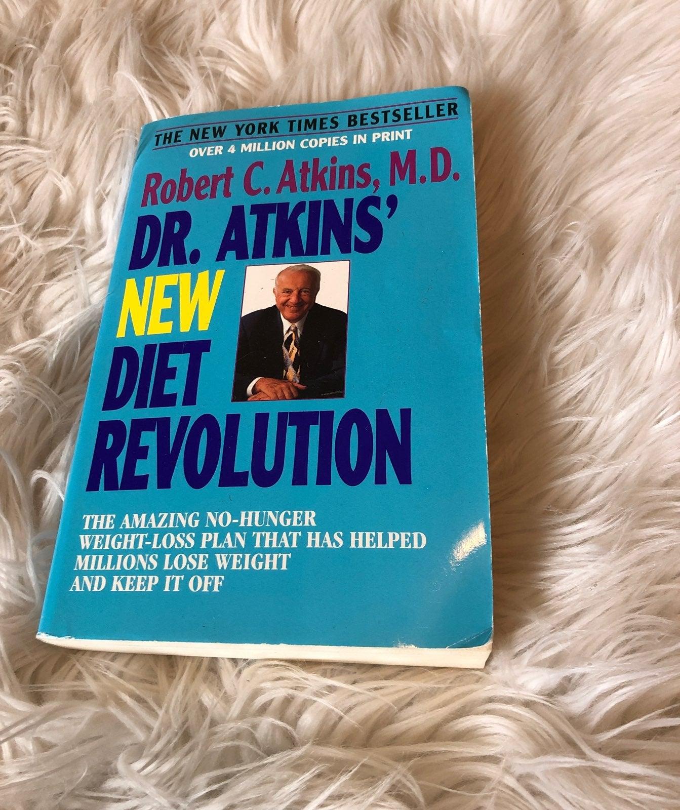 Dr Atkins New Diet Revolution Book
