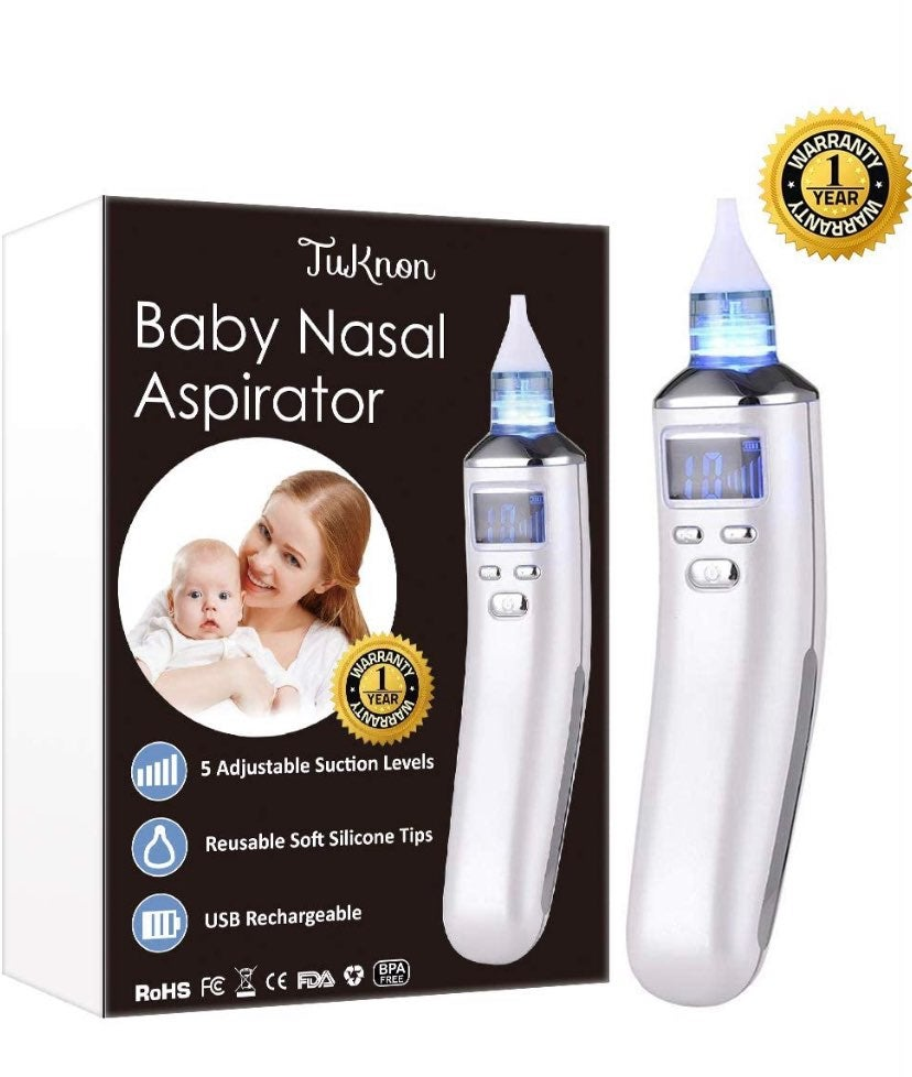 Electric Baby Nasal Aspirator Nose Clean