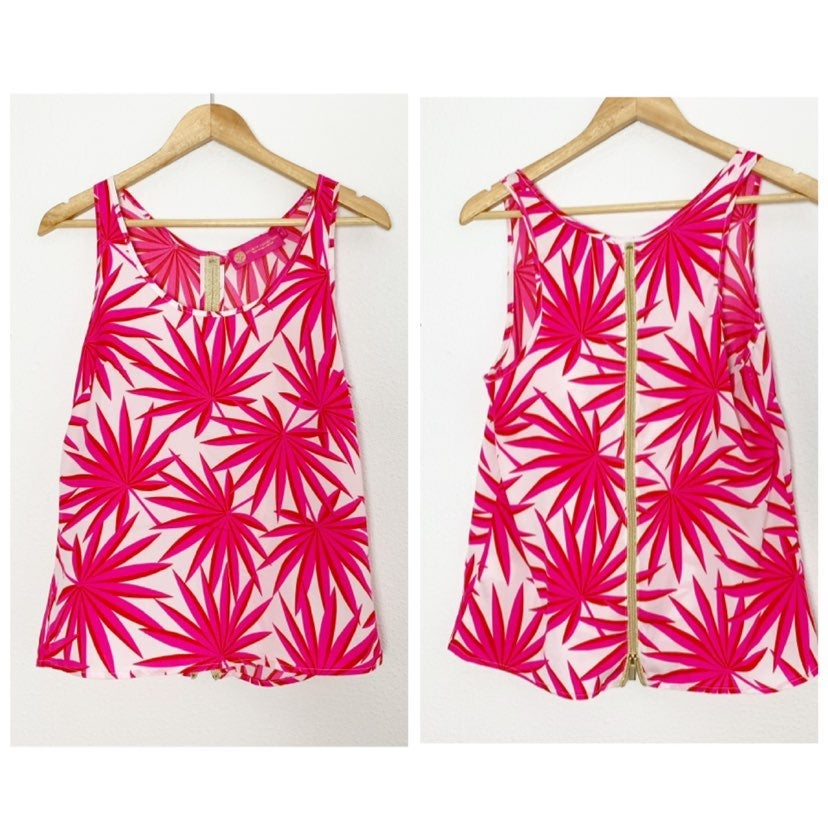 Macbeth Collection Pink Tank Top