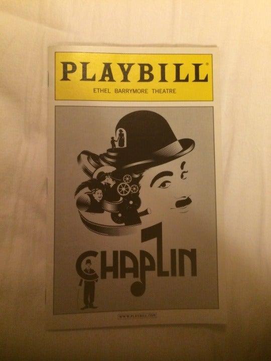 Playbill Chaplin October 2012