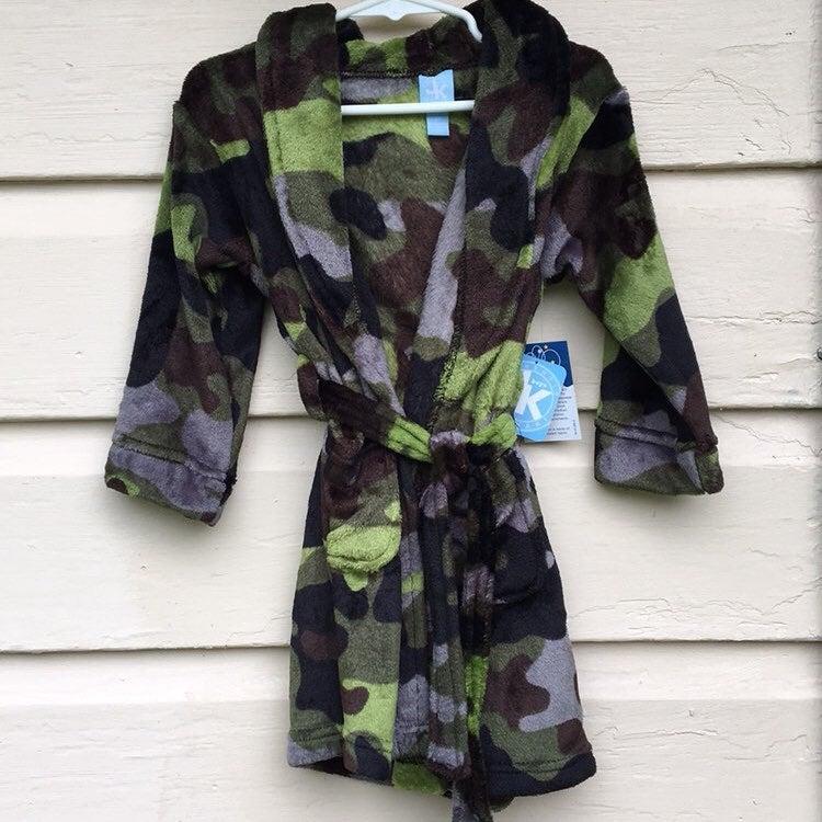 J. Khaki Camouflage Robe 2T