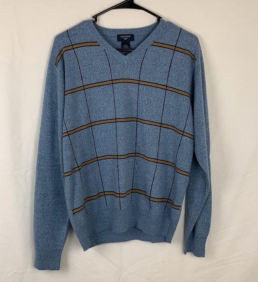 Dockers sweater striped size M