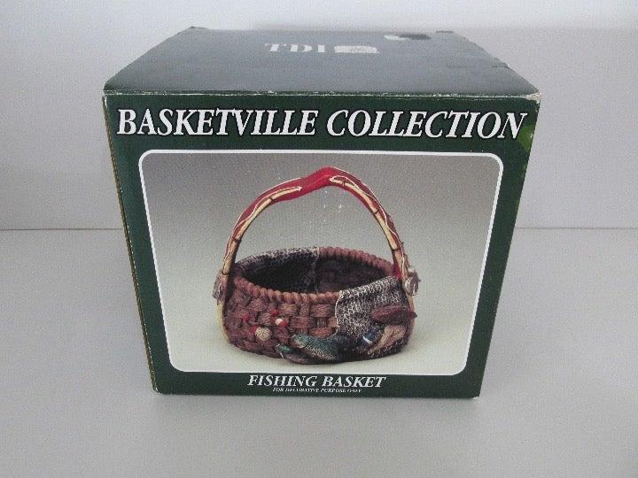 "Decorative Fishing Basket ""Basketville Collection"""