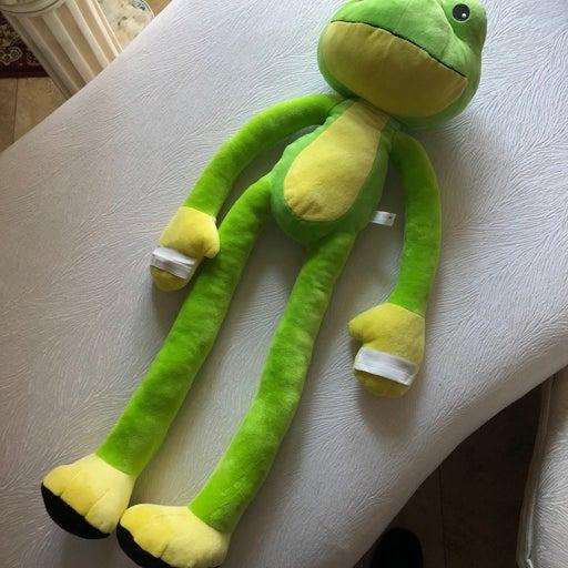 Stretch Kins Frog Plush Toy.